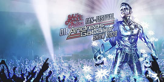 Angebote für das Andreas Gabalier RocknRoll Festival
