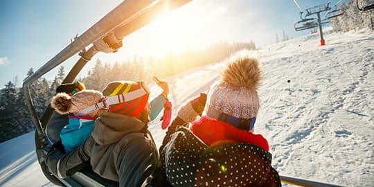Grafik Skiurlaub