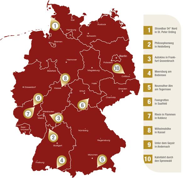 Romantische Orte In Deutschland Unsere Top 10