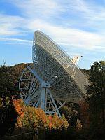 Radioteleskop in Effelsberg