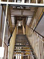 Treppe im Stasi-Knast