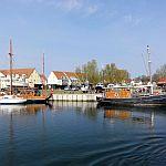 der Hafen in Kirchdorf