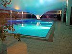 der hauseigene Pool