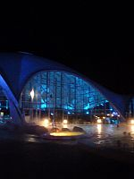 Therme bei Nacht