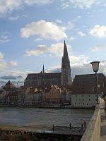 Brücke mit Regensburger Dom