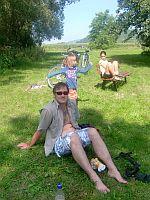 Picknick am Fischteich