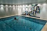 Erholung im Schwimmbad
