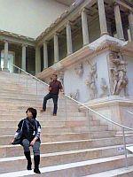 Treppe zum Pergamonaltar