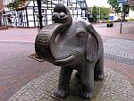 kleiner Elefant in Damme