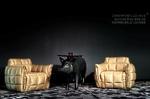 Willkommen in  den goldenen Sesseln