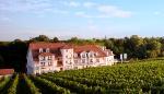 Von Wein umgeben: Hotel Prinzregent