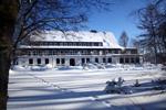 Das Berghotel Hoher Knochen im Winter