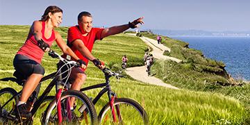 Top 15 Radreiseziele