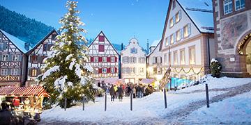 Kurzurlaub zu Weihnachten